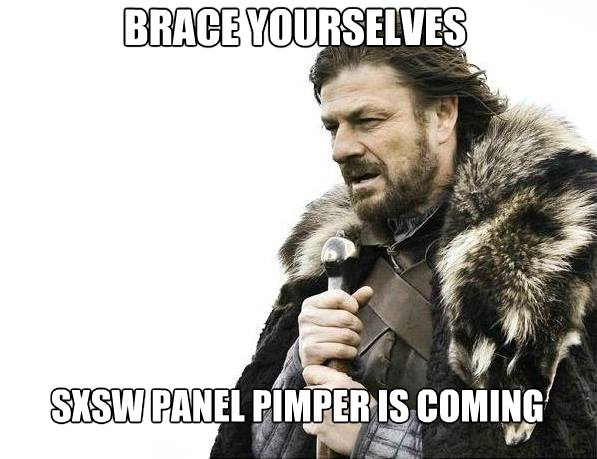 Brace Yourselves: SXS Panel Pimper is Coming